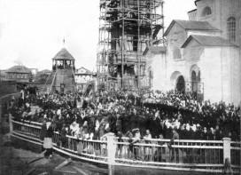 Освящение Стефановской церкви