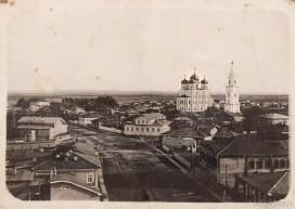 Стефановский собор, вид с пожарной каланчи