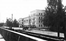 "Улица Советская и гостиница ""Север"""