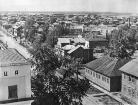 Улица Орджоникидзе с пожарной каланчи