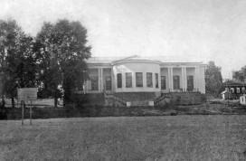 Павильон в Кировском парке