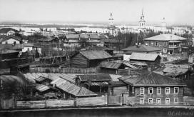 Вид на город со Стефановской колокольни