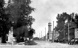 Улица Советская и пожарная каланча