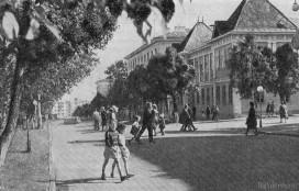 Улица Советская и здание Исполкома