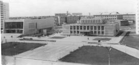 Площадь перед кафе Калевала