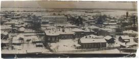 Вид на Земскую больницу с колокольни Стефановского храма