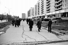 Тротуар на ул. Коммунистической