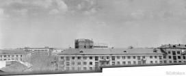 Строящееся здание Горисполкома