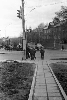 Перекресток ул. Первомайской и ул. Орджоникидзе