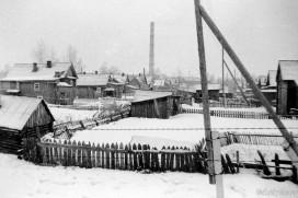 Деревянная застройка на ул. Юхнина