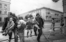 Перекресток ул. Ленина и Орджоникидзе