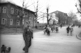 Перекресток улиц Коммунистическая и Кирова