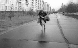 Тротуар на Коммунистической у Дома ткани