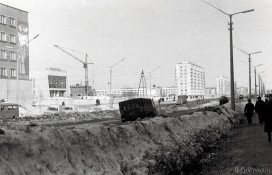 Улица Коммунистическая и строительство Калевалы