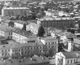 Улица Орджоникидзе с высоты