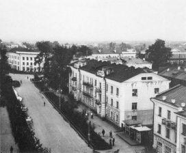Улица Советская с пожарной каланчи