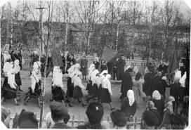 Первомайская демонстрация на ул. Кирова