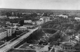 Кировский парк с воздуха