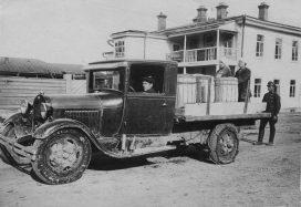 Первый автомобиль в Сыктывкаре